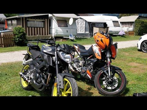 LIVING THE GOOD BIKELIFE! + CRASH   125er Lifestyle    Yamaha MT 125