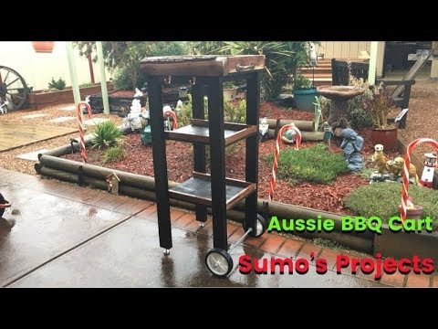 How to Build a BBQ Cart