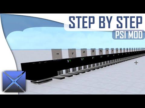 Step By Step: PSI Mod (By Vazkii)    ZERO TO MAX!    (Minecraft Tutorial)