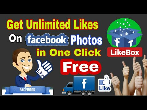 How to get 10000 Likes on Facebook Photo  | 100% working Trick Guarantee | LikeBox App