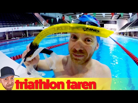 Use a Snorkel for Better Triathlon Swimming Technique