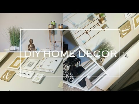 DIY HOME DECOR | Succulents + Wall Art + Gallery Wall