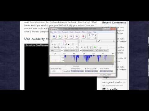 Save Audacity Recording on Audio CD