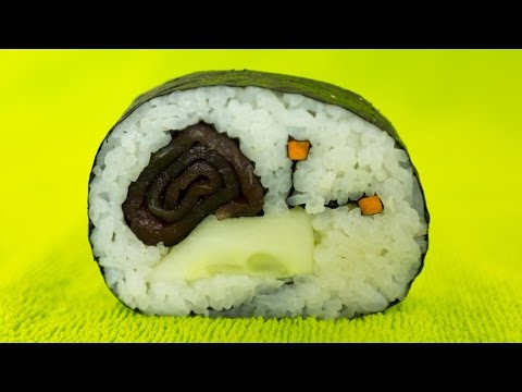 Snail Sushi Roll Recipe