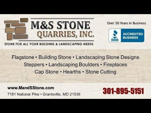 M & S Stone Quarries Inc | Grantsville MD Natural Stone