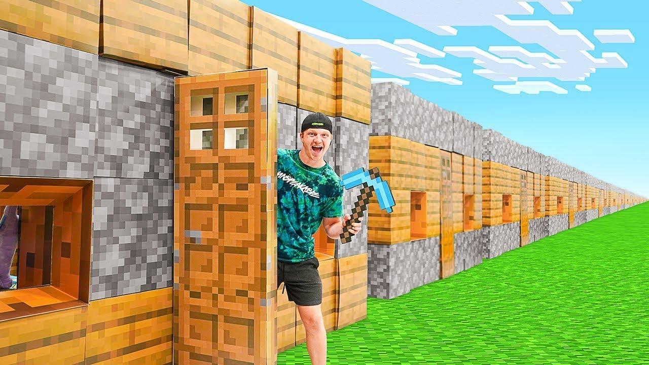 I Made A REAL Minecraft CITY!