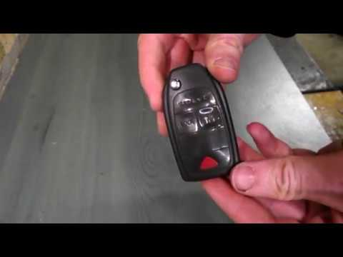 How to change a dead battery on a Volvo key fob