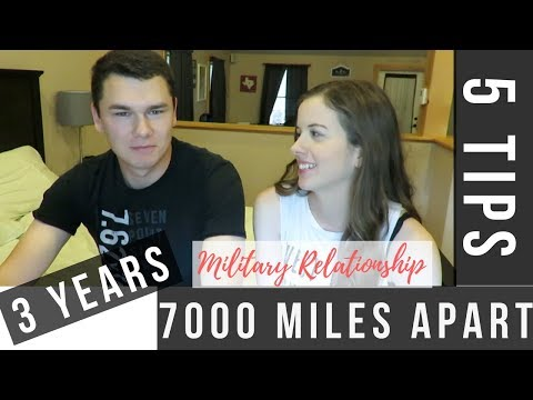 5 tips for a SUCCESSFUL Long Distance Relationship I  Military Couple