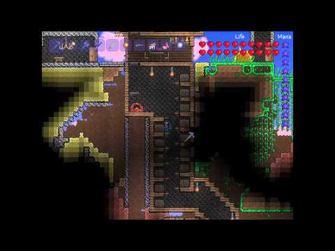 Terraria - HOW TO get Rocket Boots to fly