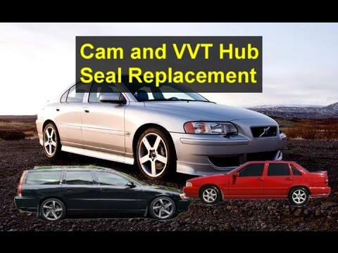 Replacing the cam and VVT hub seals, Volvo cam sprocket hubs. V70, S60, C70, S70, S80, etc.- VOTD