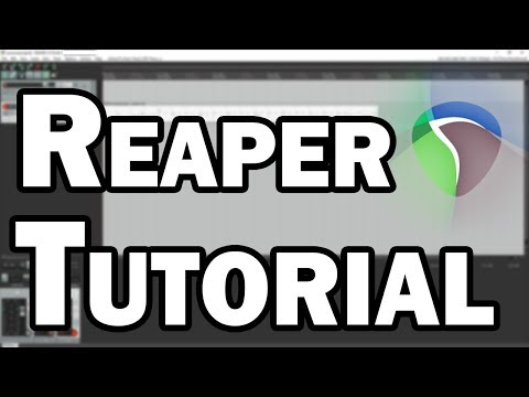 Reaper Tutorial - Best Audio and MIDI Software for Recording