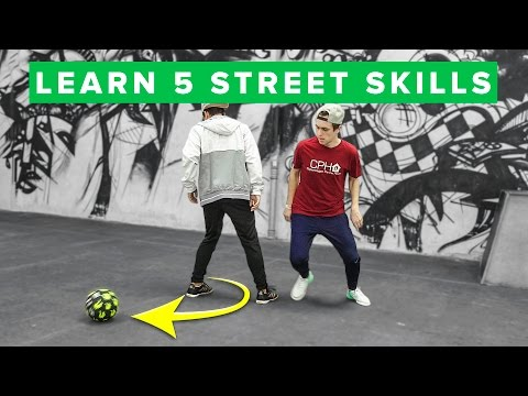 TOP 5 EASY STREET SOCCER SKILLS - Learn them today!