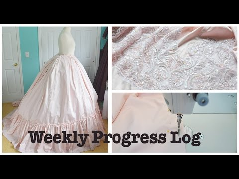 Weekly Progress Log #3 : Sewing & Costumery