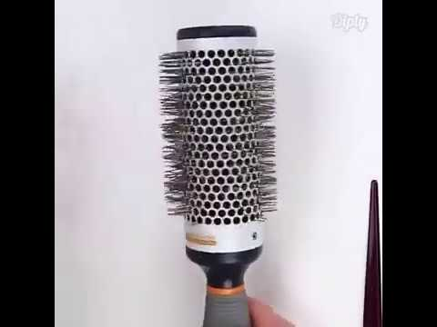 How To Clean Round Hair Brush With Baby sShampoo And Tail Comb