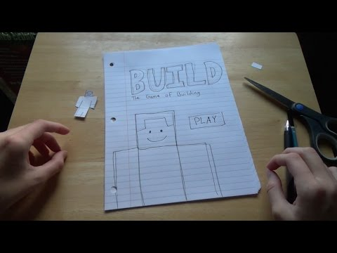 HOW TO MAKE A PAPER GAME!