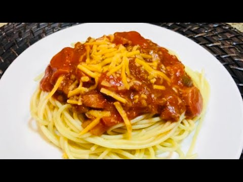FILIPINO SPAGHETTI from the scratch recipe