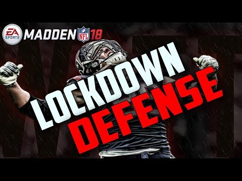 HOW TO PLAY LOCKDOWN DEFENSE IN MADDEN 18!! LIVE GAMEPLAY