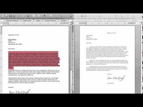 Business Letter How To