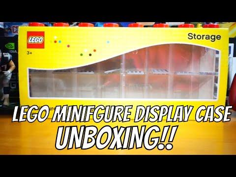 LEGO 40660601 Minifigure Display Case Unboxing