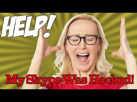 HELP! My Skype Got Hacked