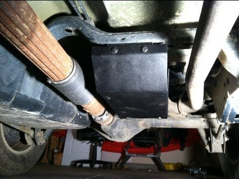 DIY Jeep Wrangler JK Evaporator Skid Plate ... HOW TO