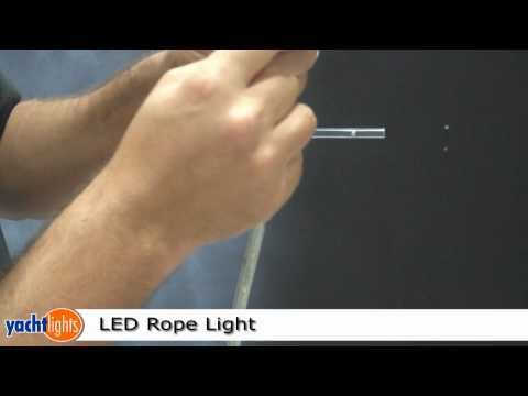 LED Rope Light installation by YachtLights.com