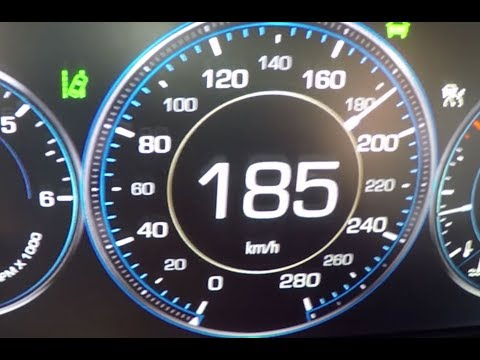 2015 Cadillac Escalade ESV - Beschleunigung  0-100 km/h Acceleration 0-100 kph/0-62 mph Tachovideo