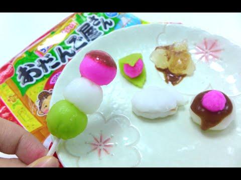 Meiji DIY Candy Kit - Dango, Taiyaki & Ichigo Daifuku