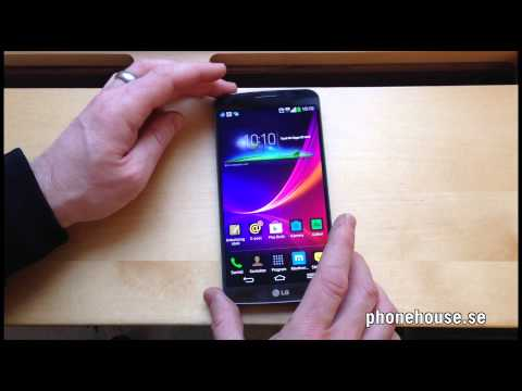 LG Flex med 6-tums böjd PAMOLED-skärm