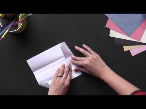 Learn to make a Envelope - Origami in Hindi