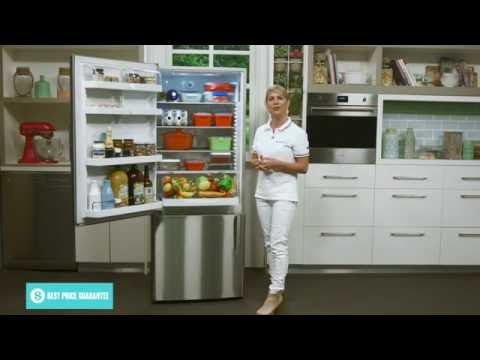 Fisher & Paykel E442BLX5 442L Bottom Mount Fridge overview by expert - Appliances Online