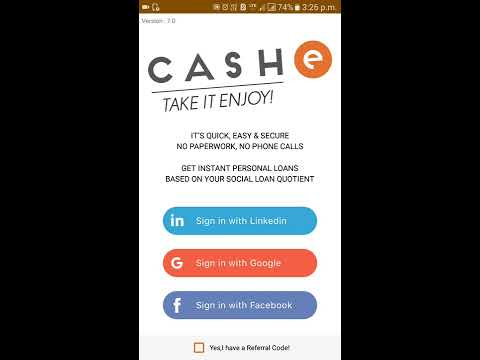 Cash E How to Get personal Loan only 1 minutes || personal loan