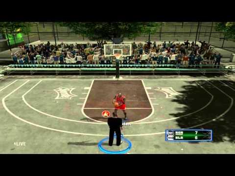 NBA 2K13 Blacktop My Player vs Michael Jordan