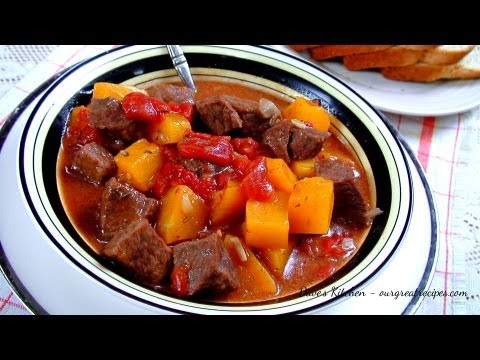 Beef Stew with Butternut Squash