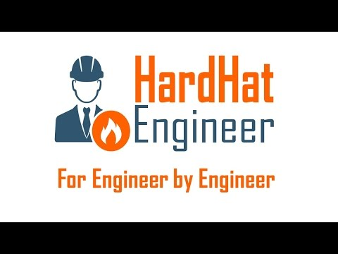 Welcome to HardHat Engineer. A YouTube Channel for Engineer
