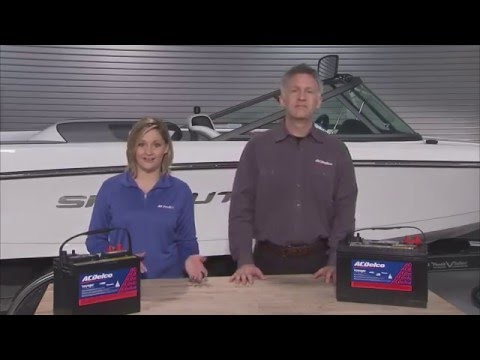 Choosing the Right Marine Battery | ACDelco Garage