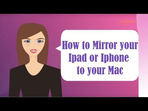 Mac OS X Hidden feature in Yosemite - Mirror your Iphone or Ipad on your Mac Screen  CC