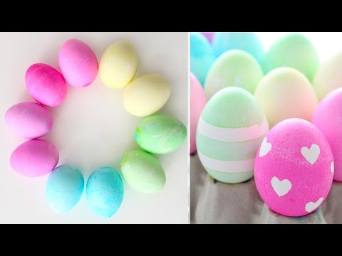 How to Dye & Decorate Easter Eggs