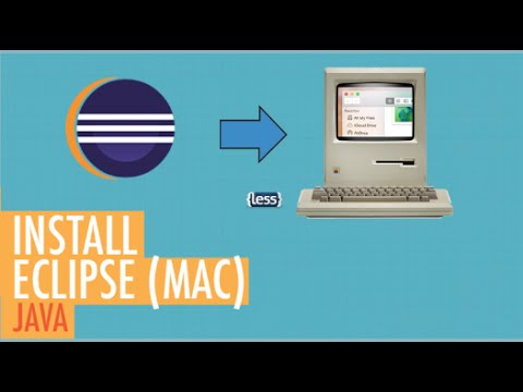 Install Eclipse for Mac OS X | Java Tutorial