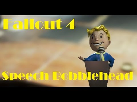 Fallout 4 - Speech Bobblehead