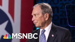 Bloomberg Fires Back vs. Trump, But Will Critiques Bruise His 2020 Chances? - Day That Was | MSNBC