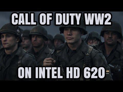 Call of Duty WWII ON Intel HD 620 Graphics Core i5 7200U
