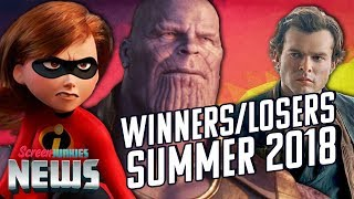 Winners and Losers of Summer 2018 - Charting with Dan!