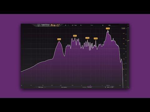 Fabfilter Pro-Q 3   Dynamic EQ & Spectrum Grab Features Tutorial