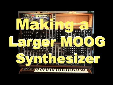 Time to expand the MOOG synthesizer