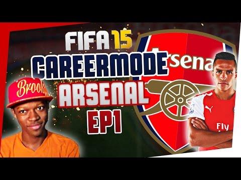 FIFA 15 : ARSENAL CAREER MODE - Episode 1 #Amazing Start