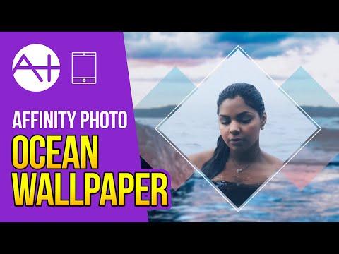 Affinity Photo iPad - Ocean Dream Wallpaper