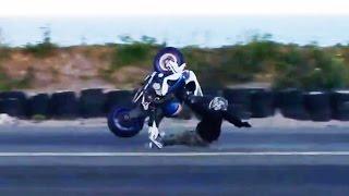 Hectic Road Bike Crashes & Motorcycle Mishaps 2017 [Ep.#16]