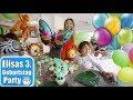 Elisas 3. Geburtstag 🎂 Strahlende Augen Geschenke auspacken! Krokodil Cupcake Cake   Mamiseelen