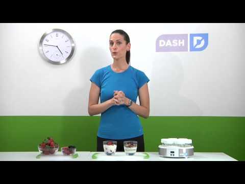 Dash Yogurt Maker - How to Make Delicious, Unprocesed Yogurt at Home